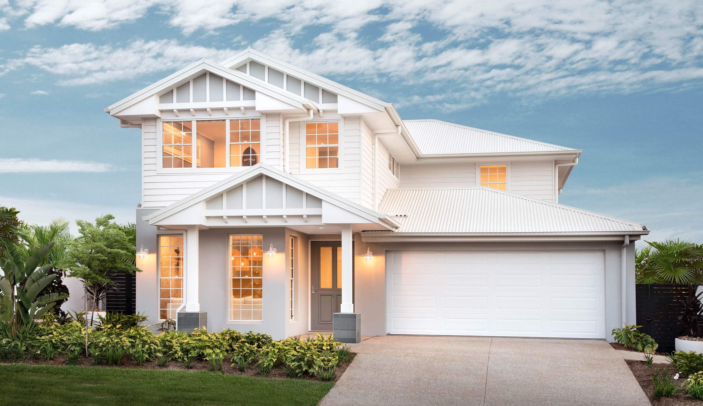 Double Storey House Design - Harrow Facade